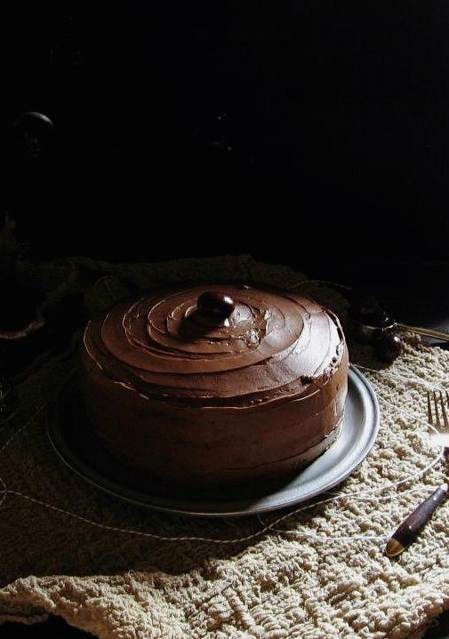 chocolate mocha cake | une gamine dans la cuisine
