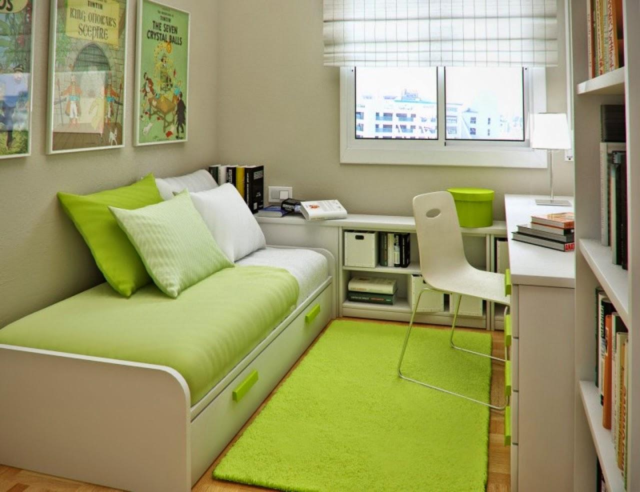 Desain Rumah Tebaru Desain Kamar Tidur Minimalis Warna Hijau