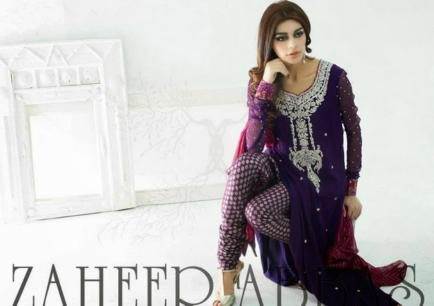 Zaheer Abbas Eid Collection 2014 wwwfashionhuntworldblogspot 15  - Zaheer Abbas Eid Collection 2014 For Women