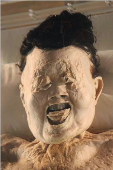 La momia de la señora Day en la actualidad