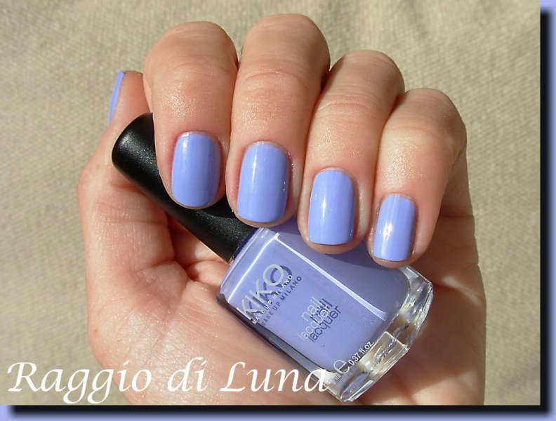 Raggio di Luna Nails: Kiko n° 338 Light Lavender