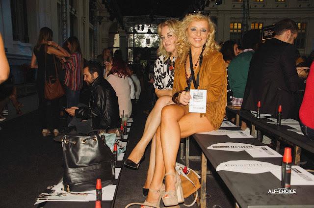 Susana y Alicia en el Front Row de MFSHOW WOMAN 2015