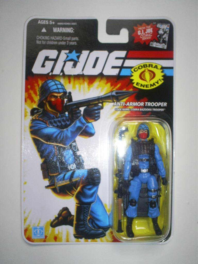 2008 GI Joe Cobra Bazooka Trooper Anti-Armor Trooper