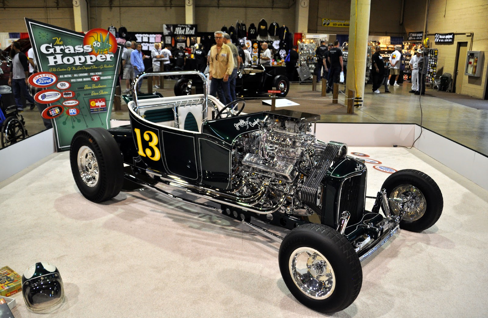 Just A Car Guy Galpin Motors Was Inspired By A Model Car Kit To Build A Full Size Bucket