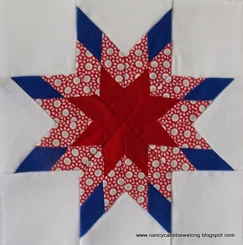 Free Quilt Pattern For 8 Point Star : Moore About Nancy: Pieced Eight Point Star quilt block