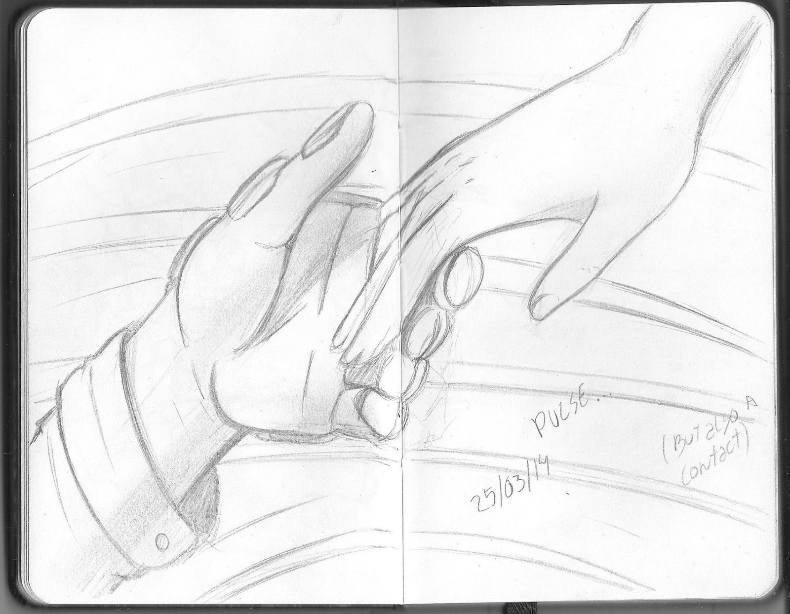 A imagem acima é do meu caderno de rascunhos você deve estudar mãos a todo momento