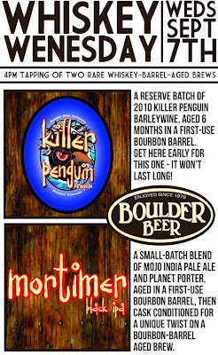 Boulder Beer Whiskey Wednesday