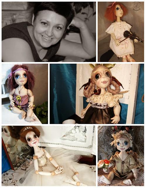 куклы Марыси Семицвет Марины Семилетовой