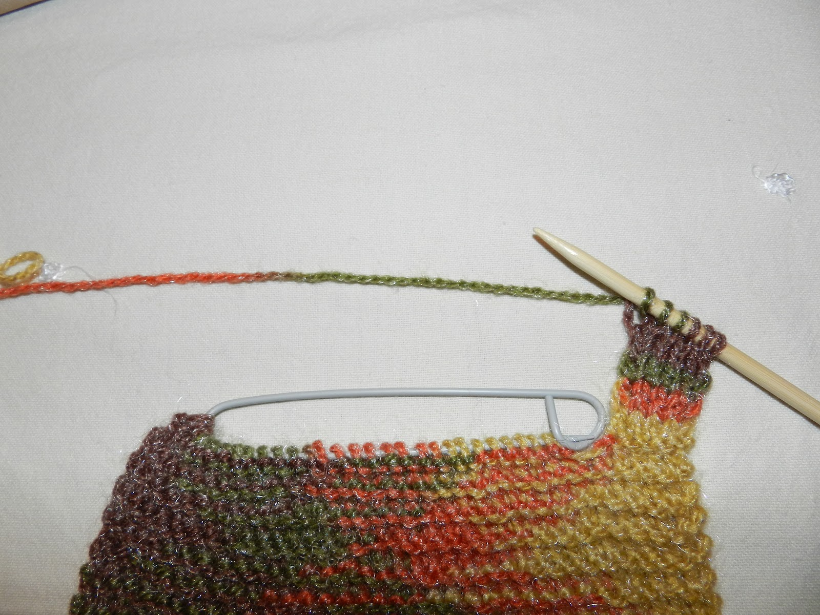 Knitting Stitches To Cm : Marianita la Aranita: Tutorial 1: Neck warmer (in english)