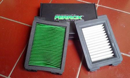 filter ferrox di cbr150r lokal