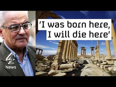 Ο  Καθηγητής  Khaled δολοφονήθηκε για όλους τους ελεύθερους ανθρώπους του πλανήτη