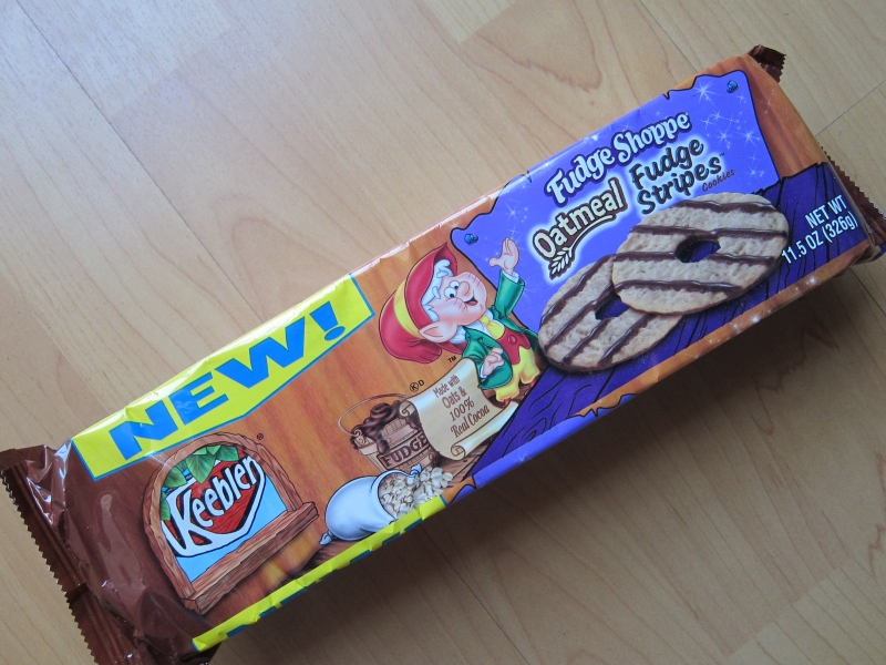 fudge stripe cookies are a new take on an old classic keebler fudge ...