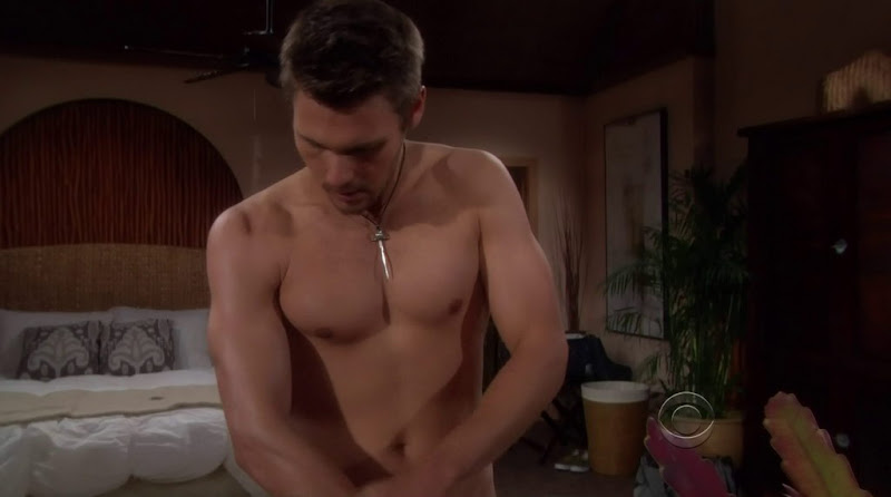Scott Clifton Shirtless in the Bold and the Beautiful 20111227