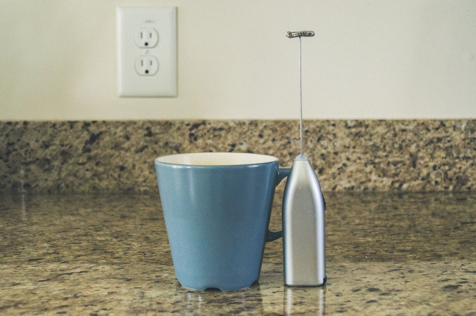 IKEA Mug and Milk Frother