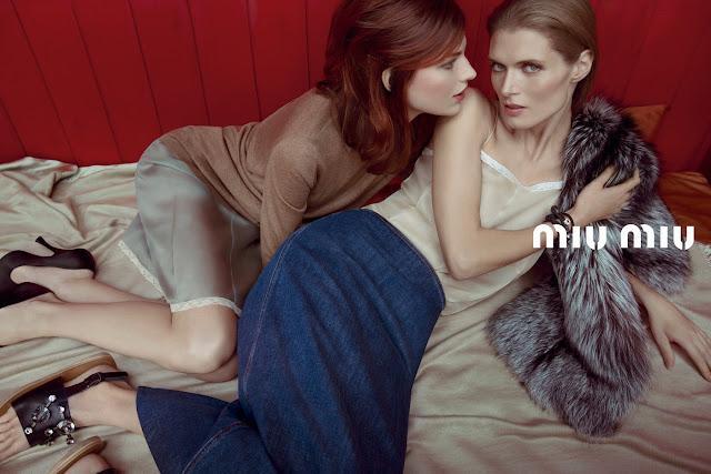 Miu Miu Spring 2013 Ad Campaign