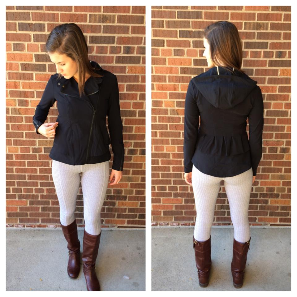 lululemon herringbone turn-around-tight bust-a-move-jacket