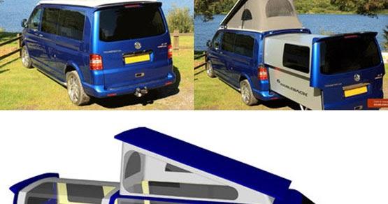 gr8lakescamper video vw doubleback camping van. Black Bedroom Furniture Sets. Home Design Ideas