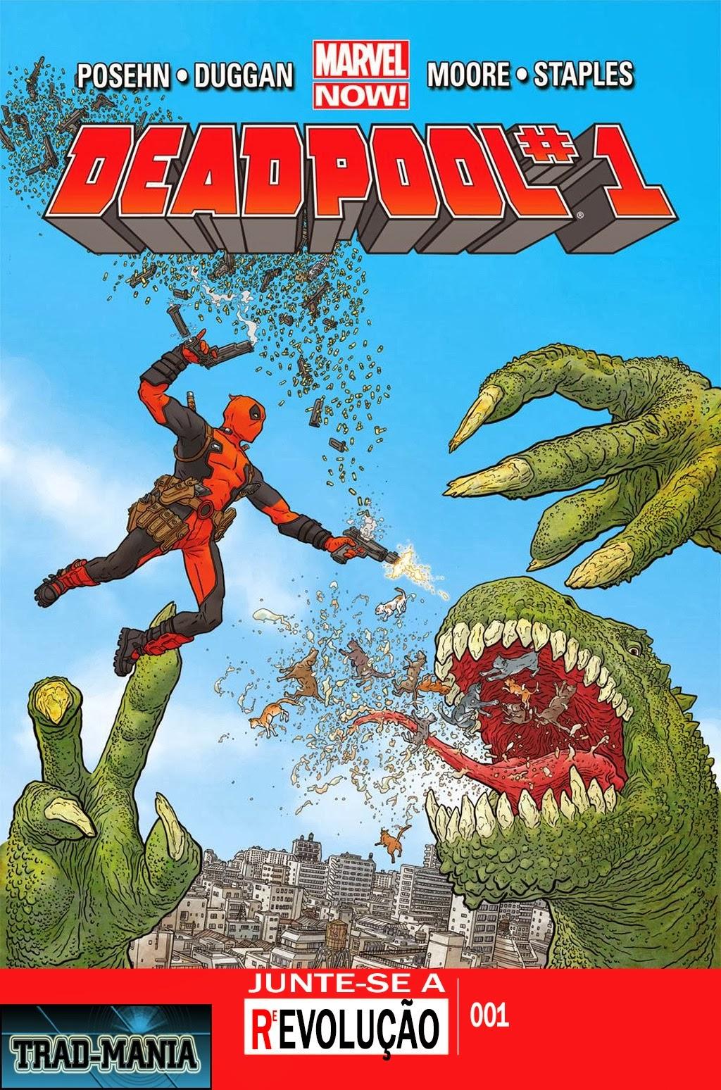 Nova Marvel! Deadpool v5 #1