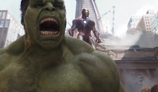 Hulk in the 3D film 'The Avengers'