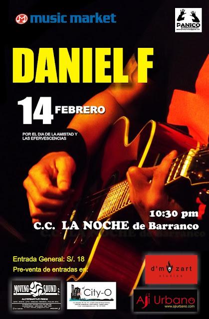 Daniel en la Noche de Barranco