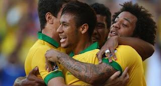 Video Gol Brazil vs Meksiko 20 Juni 2013