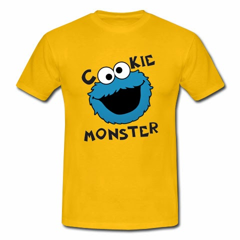 koszulka Cookie Monster