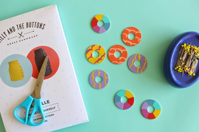 Make Your Own Sewing Pattern Weights!
