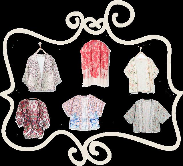 #shopping #kimonos #modaniña #pequeñafashionista