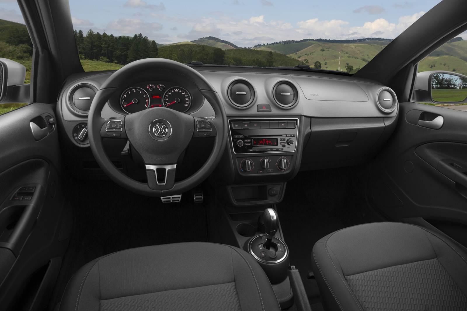 novo VW Gol G6 2015 - interior