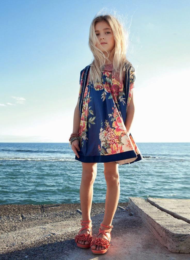 Colección moda niña Primavera-Verano 2014 TWIN-SET SIMONA BARBIERI