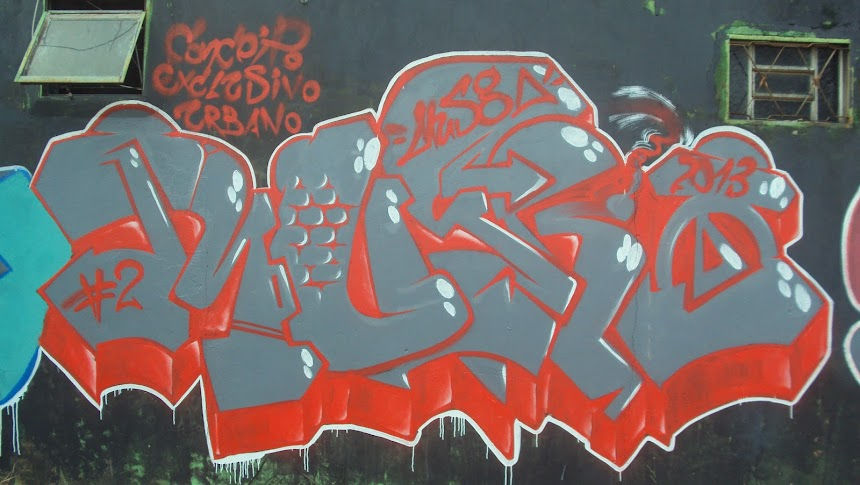 Musgone piece of graffiti