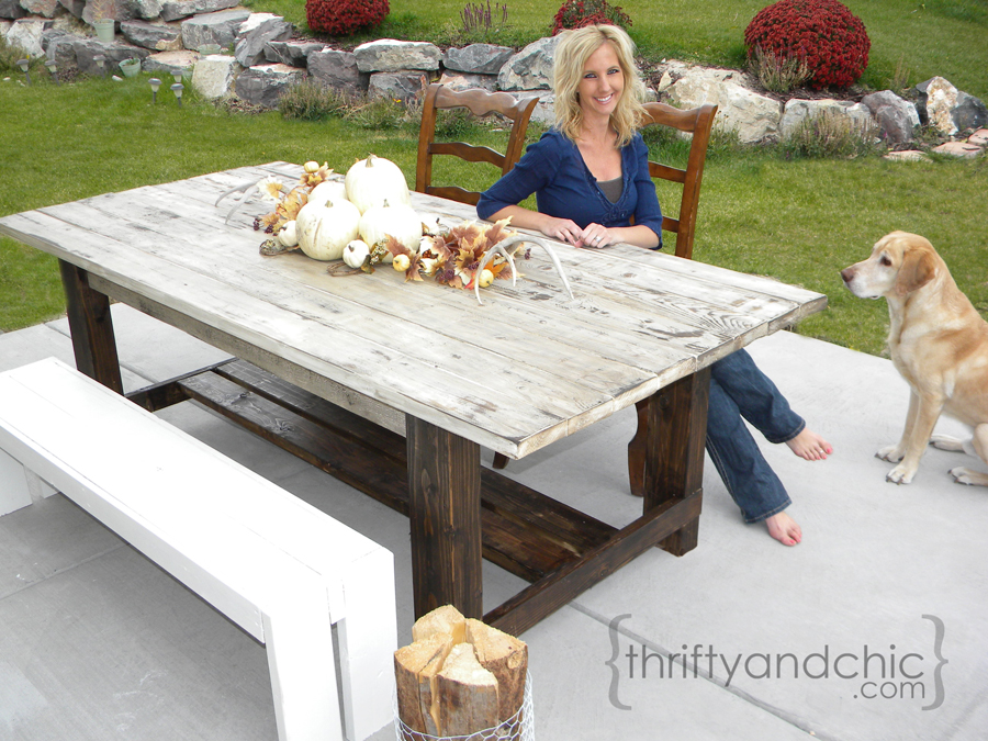 Woodworking homemade patio table plans PDF Free Download