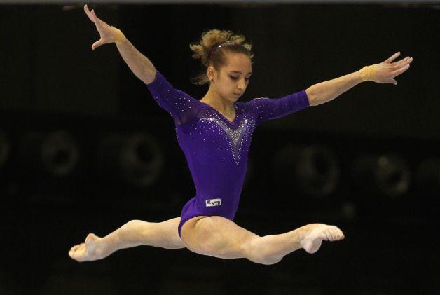 Viktoria Komova Russia Female Gymnastic Player 2012Viktoria Komova 2012