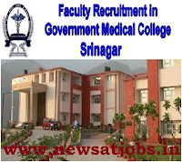 faculty+recruitment+govt+medical+college+srinagar