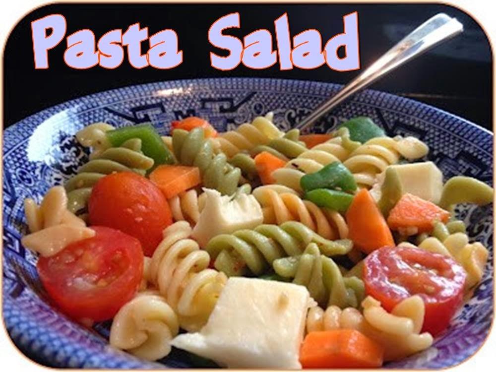 Pasta salad #salad #picnic