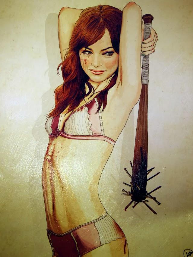 Emma Stone Asesinas famosas