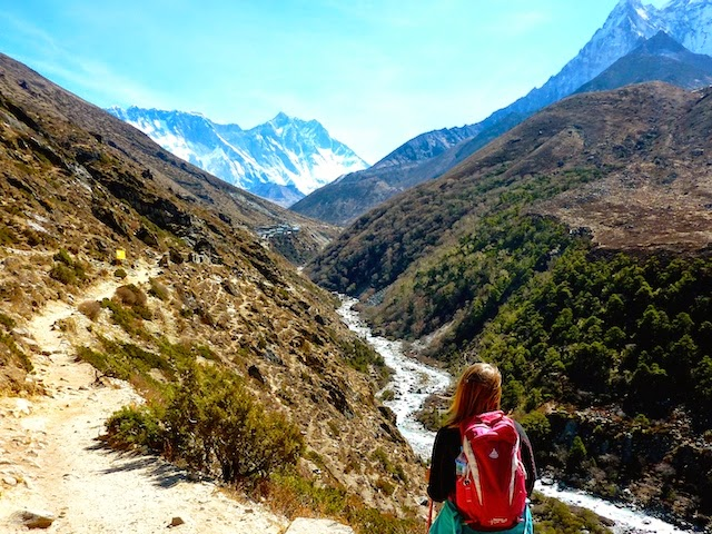 View on Mount Everest EBC Trek