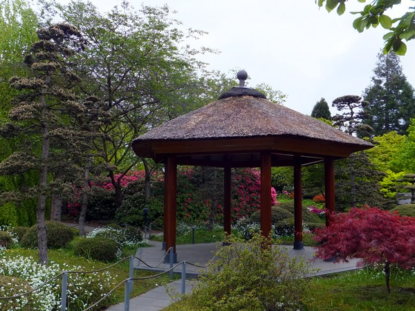Hambourg Hamburg Parc Planten un Blomen jardin japonais japanischer garten