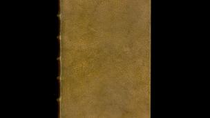 buku dari abad ke-19 Sampulnya Terbuat Dari Tubuh Manusia