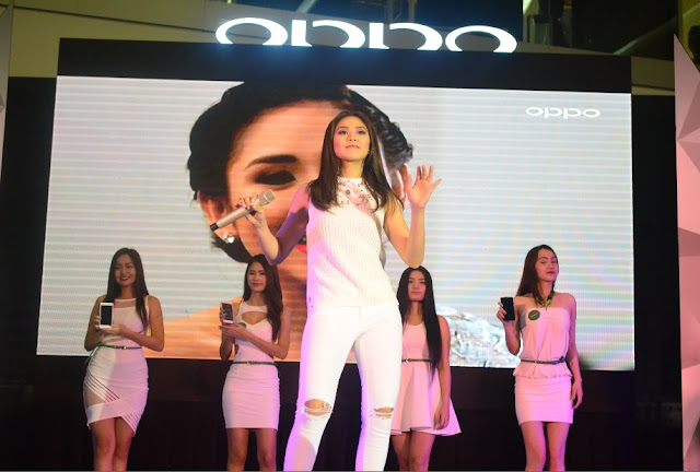 Sarah Geronimo Oppo new face