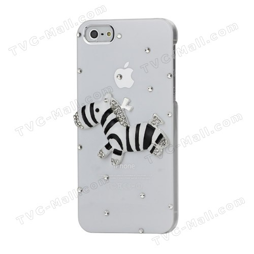 3d Zebra Iphone 5 Case4
