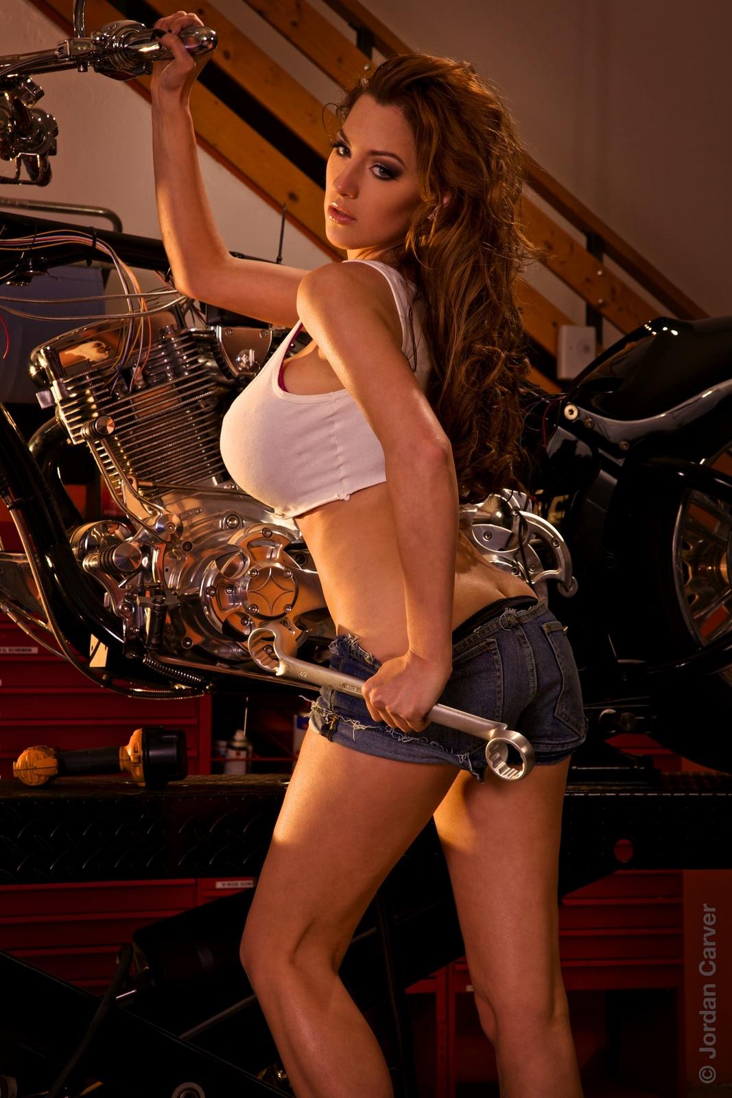 Jordan Carver: Biker Girl - II