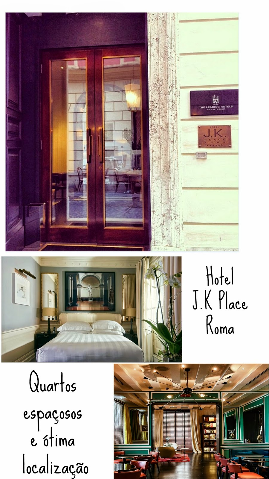 Hotel em roma j k place woman chic for Hotel rome chic