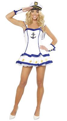 fantasia feminina marinheira