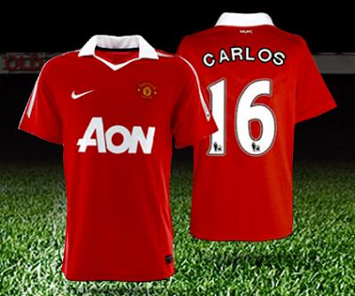 premios 2 Viajes dobles a Manchester Inglaterra Jerseys del Manchester United con el nombre del Chicharito concurso espn deportes AON Mexico 2011