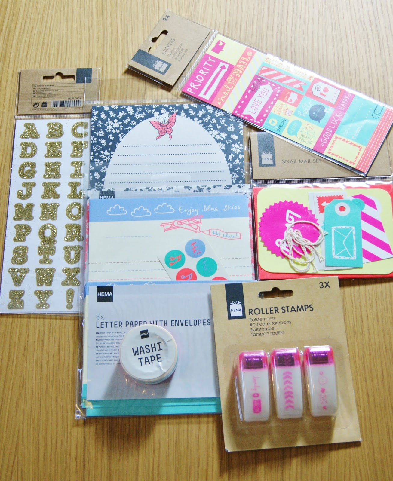 Hema UK Stationery Haul