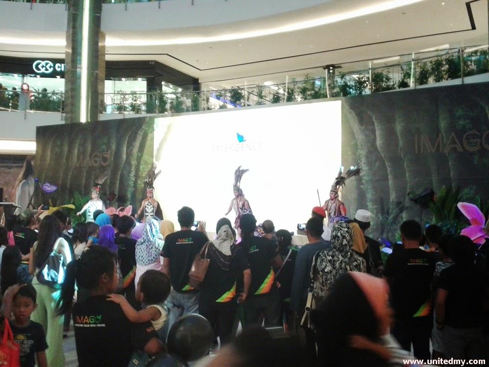 Imago mall cultural dance