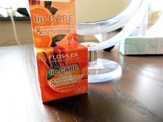Flos-Lek – Lip Care – wazelina do ust – wersja pomarańczowa [recenzja]