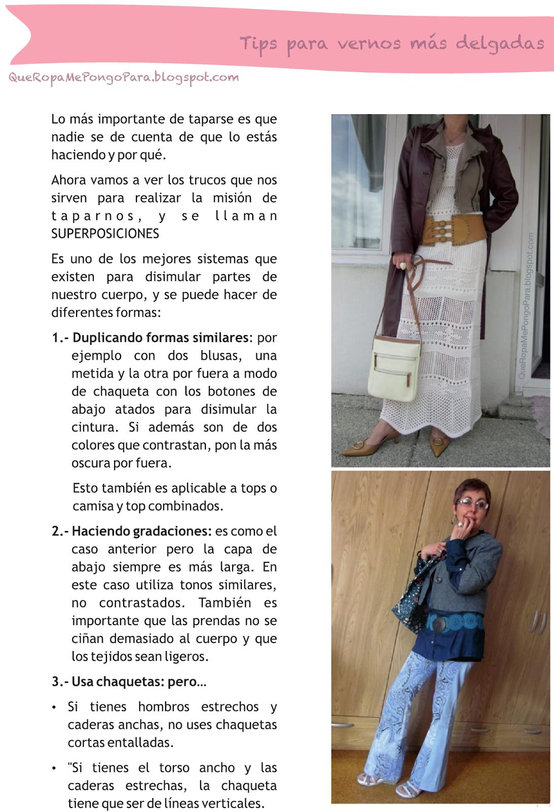 COMO VERSE MAS FLACA - TIPS DE MODA PARA LUCIR MAS DELGADA FASHION
