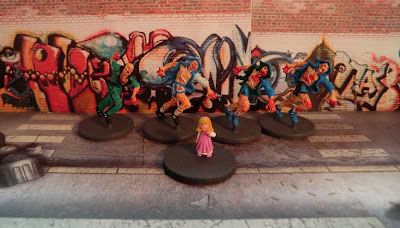 Zombicide, Runner, Zombie, painted,